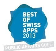 Logo Best of Swiss Apps 2013
